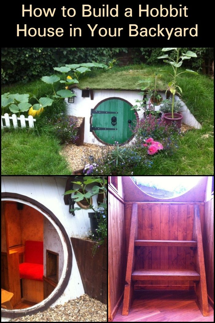 How To Build A Hobbit House In Your Backyard Tree House Diy Hobbit House Hobbit Houses Diy