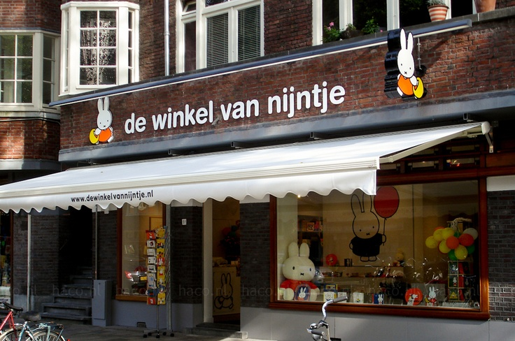 Gevelreclame van Nijntje Amsterdam