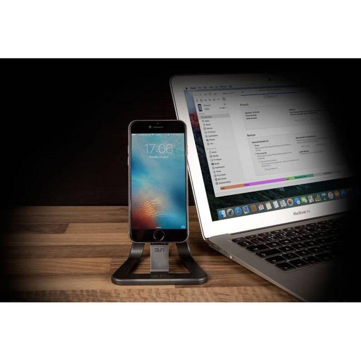 Stand de incarcare pt. birou, pentru Apple iPhone 5/6, mufa Lightning, certifica
