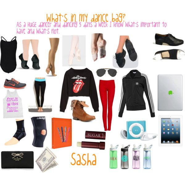 """""""What's in my dance bag??"""" by sashajfashion on Polyvore cheap Cheap Nike Free Run 3 only $49, save up to 50% off"""