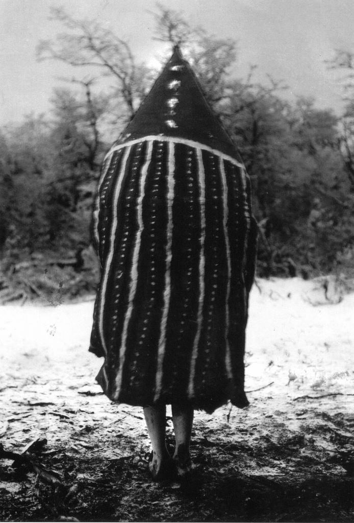 Selk'nam/Ona, Hain initiation ceremony spirits, Patagonia.
