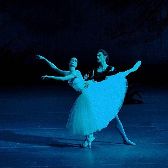 Мне не терпится выложить кадры даже без обработки.  Снимала на шикарную бесшумную камеру, кажется, созданную специально для  съемки балета)) #Жизель #большойтеатр #балет #театр #инстаграмнедели #балерина #москва #светланазахарова / Svetlana Zakharova and Denis Rodkin in Giselle