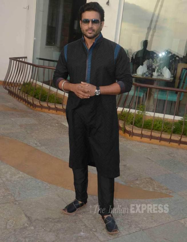 R Madhavan promoting 'Tanu Weds Manu Returns'. #Bollywood #Fashion #Style #Handsome