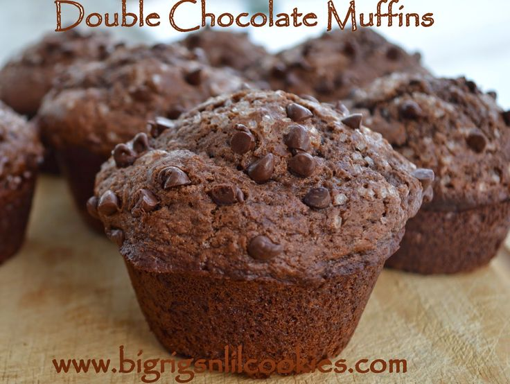 Big Rigs 'n Lil' Cookies: Double Chocolate Muffins