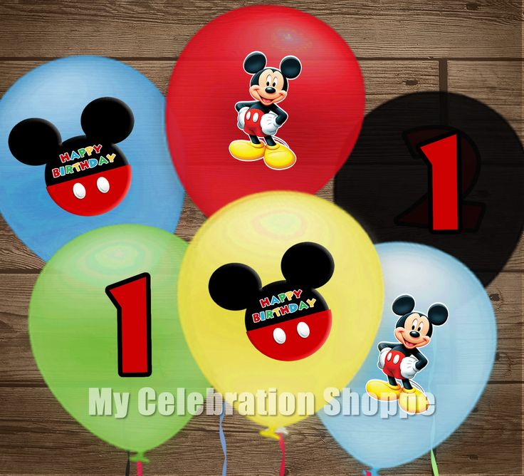271 best Mickey Party images on Pinterest Mickey mouse birthday