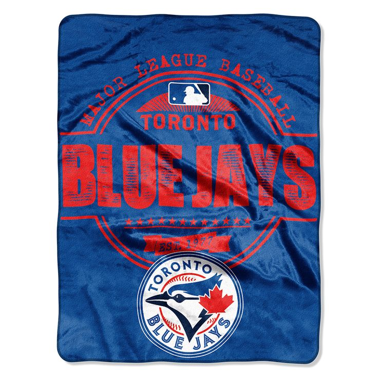 Toronto Blue Jays Micro Raschel Blanket (Structure Series) (46x60)  #torontobluejays #bluejays #aleastchamps #bluejaysblanket  Purchase here: http://www.mysportsdecor.com/toronto-blue-jays-micro-raschel-blanket-structure-series-46x60.html