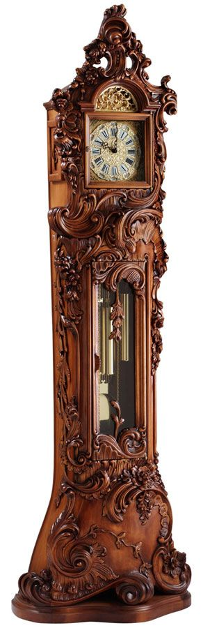 Avondale Grandfather Clock...dusting would take forever but the detail is amazing