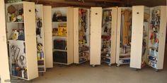 Garagen werden nur all zu oft vernachlässigt: Sie müssen als schmuddeliger Abstellraum für diverse Handwerksgegenstände herhalten und finden beim regelmäßigen Hausputz kaum Beachtung. Mit ein paar Tricks verwandelt sich Deine Garage vom unappetitlichen Staubfang in ein Eldorado für Heimwerker.