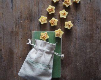 10 arancio dolce & May Chang olio essenziale profumato 100% cera d'api olio bruciatore si scioglie © in sacchetto