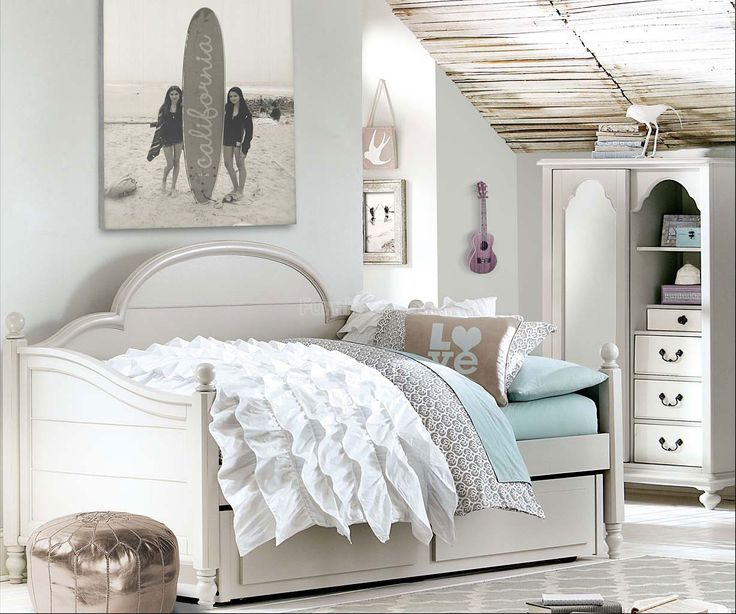 Inspirations Westport Panel Daybed Bedroom Set (Mist Gray) Legacy Classic Kids   Furniture Cart
