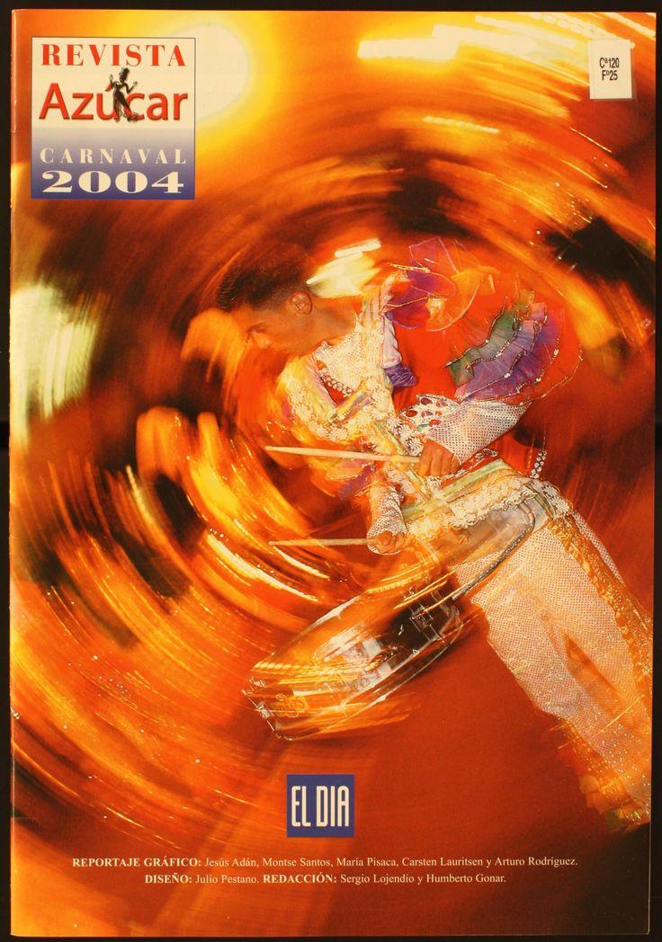 """Revista """"Azúcar"""" carnaval 2004. -- [Santa Cruz de Tenerife]. El Día http://absysnetweb.bbtk.ull.es/cgi-bin/abnetopac01?TITN=435594"""