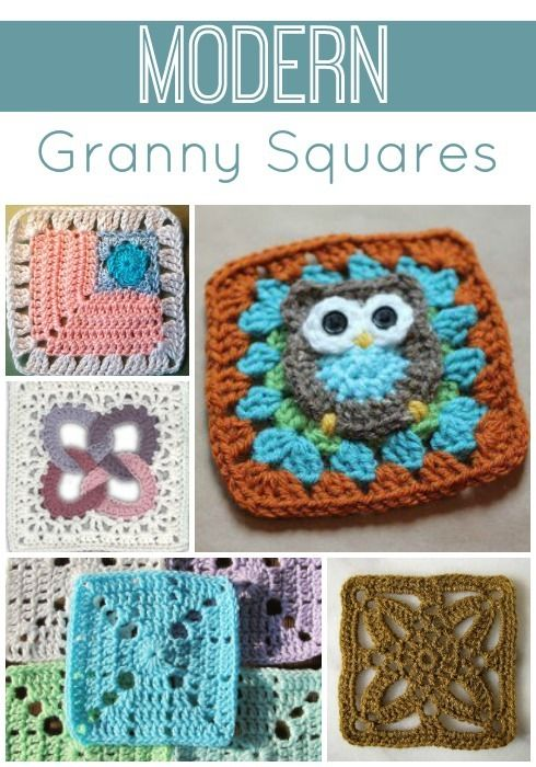 Learn how to crochet granny squares that are stylish and updated! These aren't your granny's granny squares, that's for sure. With 24 Modern Granny Squares, you'll find creative and unique crochet granny square patterns for all sorts of projects.