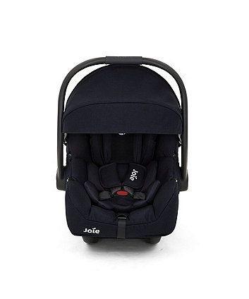 The Joie i-Gemm car seat is suitable from birth and has been designed to allow your baby to travel in the recommended rearward facing position for longer (up to 15 months). Use with the Joie i-base (sold separately) to ensure extra safe installation of the i-Gemm in your vehicle.