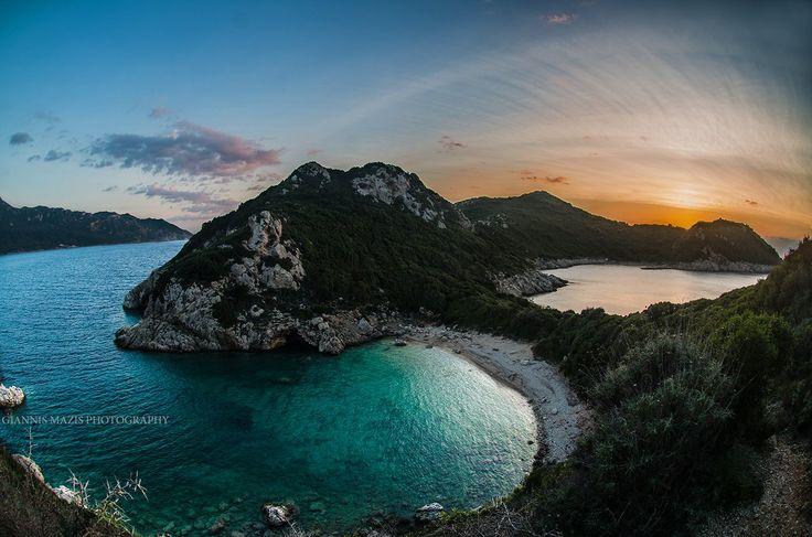 Porto Timoni, Afionas, Corfu. Photo by: Giannis mazis photography. #GreenCorfu - greencorfu.com - https://pinterest.com/greencorfu/