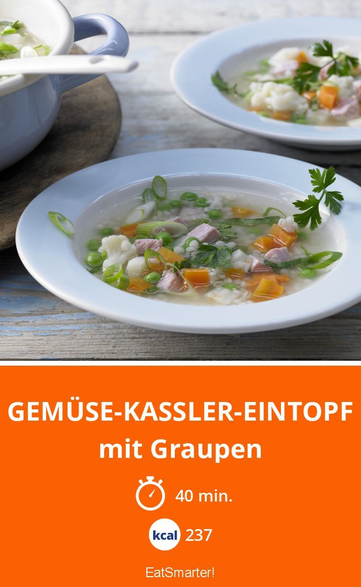 Gemüse-Kassler-Eintopf