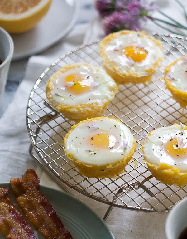 spaghetti squash egg baskets wwwacozykitchencom a cozy kitchen