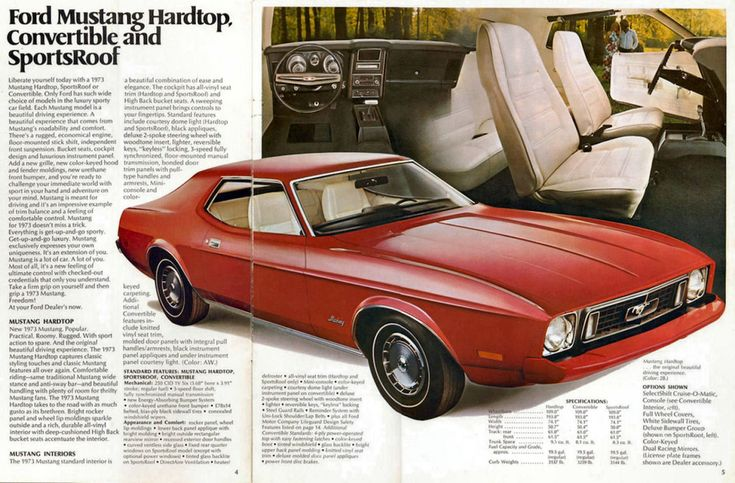 1973 Ford Mustang: Last of the Original Pony Cars | GenHO