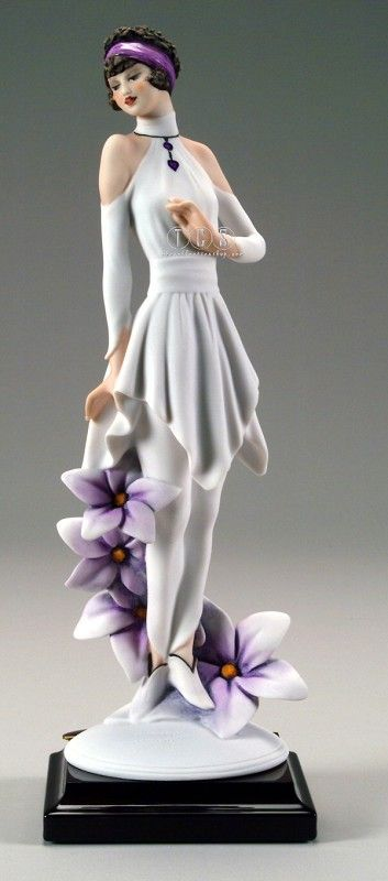 Giuseppe Armani Lady Violet 2256F http://www.thecollectionshop.com/xq/ASP/Armani-Lady-violet/S.2256F/A.34/qx/Limited_Edition_Art_Detail_Page.htm $395.00 #Armani