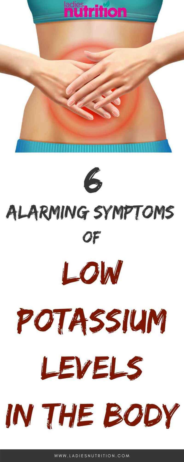 About 98% of potassium is present in the cells; therefore any little alteration to its level can have adverse effects on the muscles, heart, and nerves.