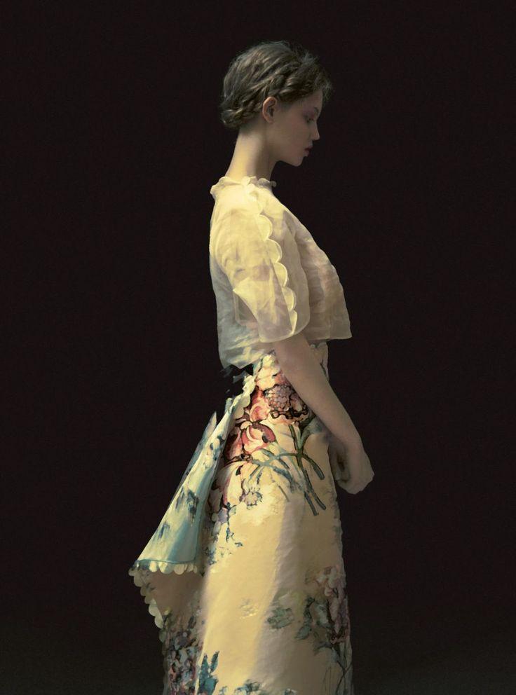 Harper's Bazaar UK May 2017 - Lindsey Wixson - Erik Madigan Heck