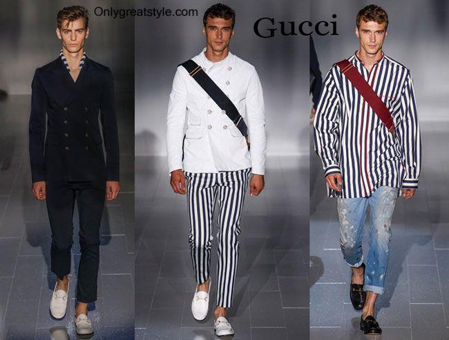 Gucci spring summer 2015 menswear fashion clothing
