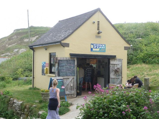 lulworth cove | West Lulworth: Cove Fish:: OS grid SY8279 :: Geograph Britain and ...