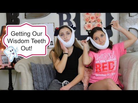 Twins different reactions to getting their wisdom teeth out.  I seriously died laughing watching this!  #wisdomteeth #brooklynandbailey