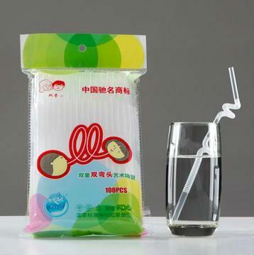 4000 шт. прозрачная пластиковая питьевой соломинки гибкий 6 * 210 мм на день рождения свадебных мероприятий ну вечеринку товар пить соломы EMS бесплатная доставка