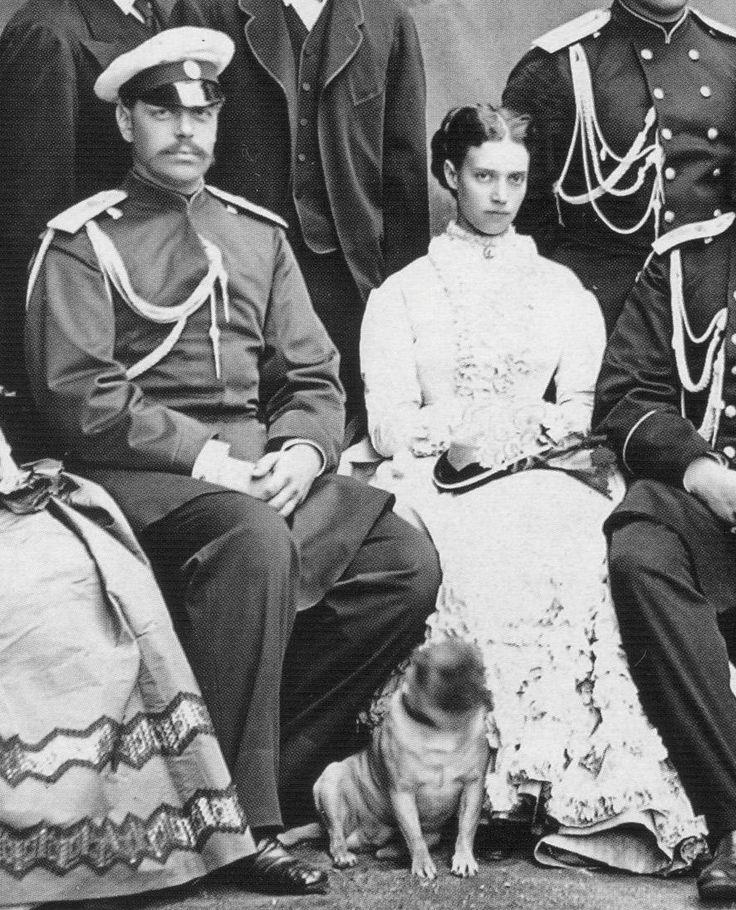 "Tsar Alexander III ""Sacha"" Russia & wife Dagmar-Marie ""Minnie"" Denmark"