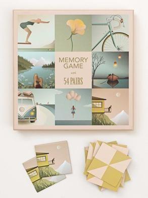 MEMORY GAME - 54 pairs