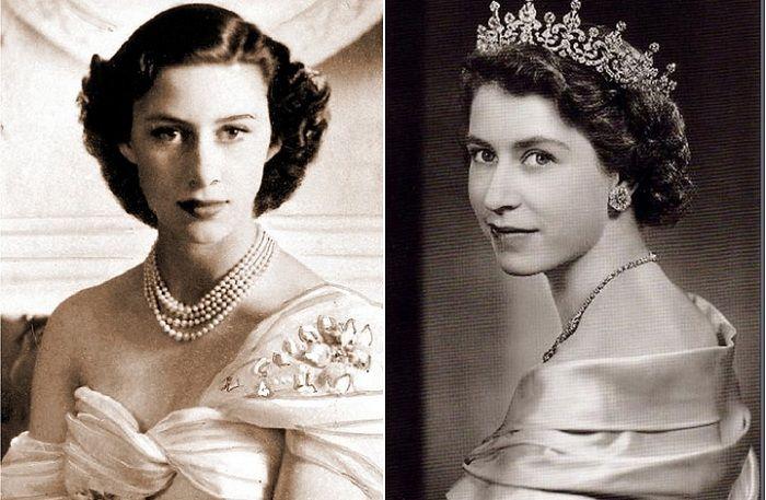 «Запасная принцесса» - британская принцесса Маргарет.