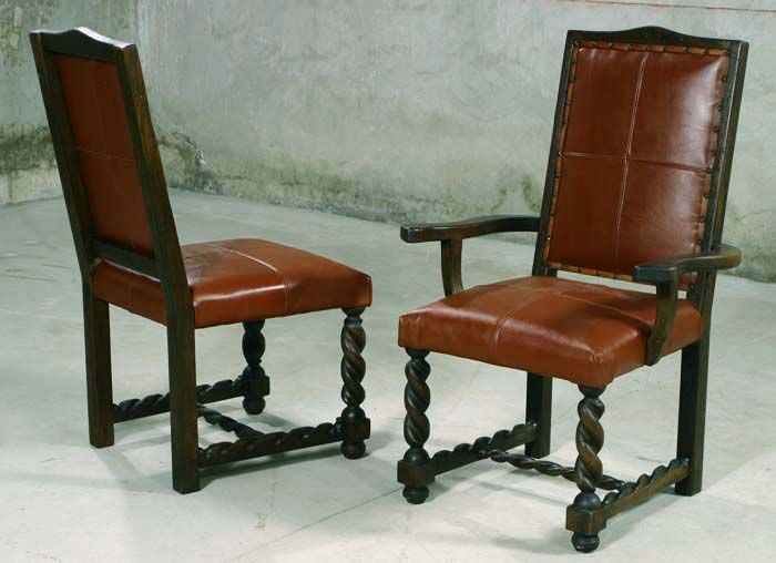 Rafaela Western Dining Chairs