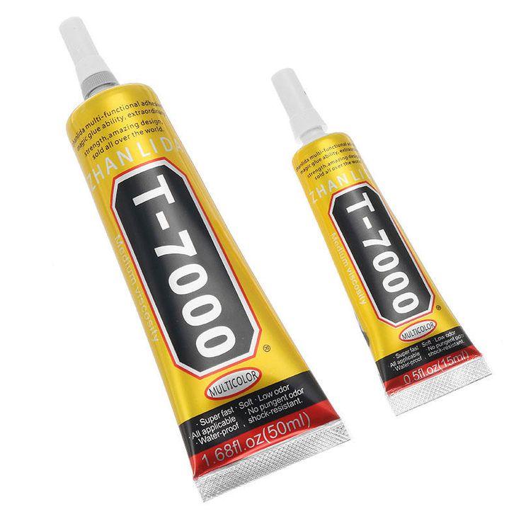 T7000 15mL 50mL Glue Multi Purpose Black Adhesive for Phone Screen Repair Frame Sealant DIY Crafts