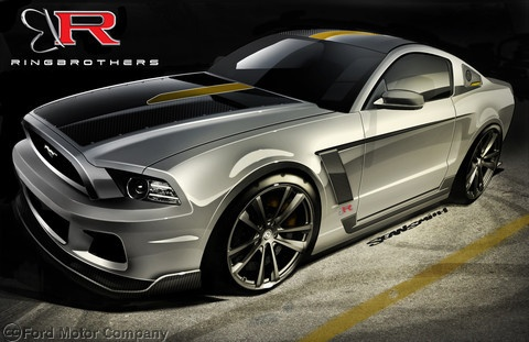 2013 Mustang GT, 5.0L V8, Six-Speed Manual Transmission - Built by Ringbrothers