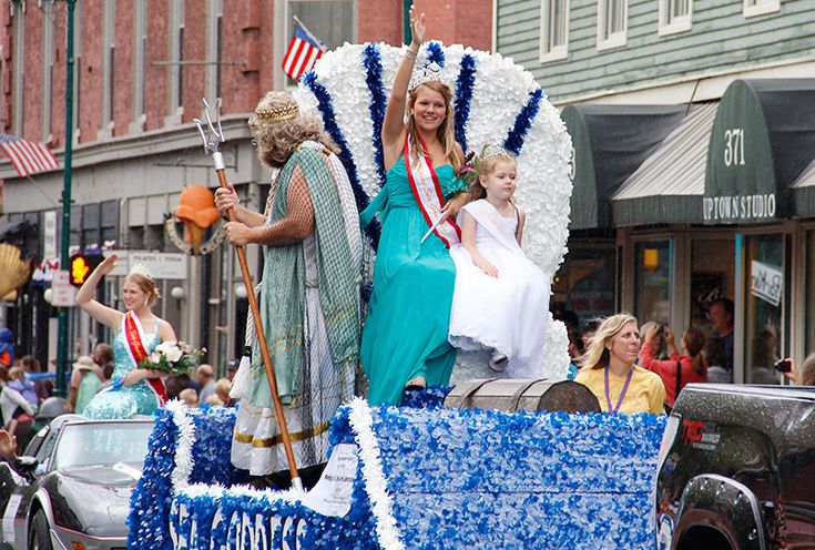 Melissa Philbrook was crowned 2013 Maine Sea Goddess at the 66th annual Maine Lobster Festival in Rockland.
