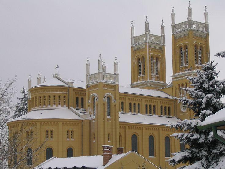 Szeplőtelen fogantatás római katolikus templom (Fót) http://www.turabazis.hu/latnivalok_ismerteto_717 #latnivalo #fot #turabazis #hungary #magyarorszag #travel #tura #turista #kirandulas