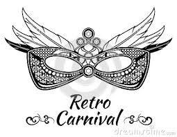 Resultado de imagem para convite carnaval elegante
