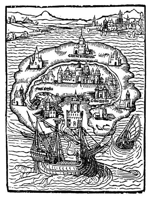 """öffentliche Angelegenheiten: Vor 500 Jahren: die """"Utopia"""" von Thomas Morus."""