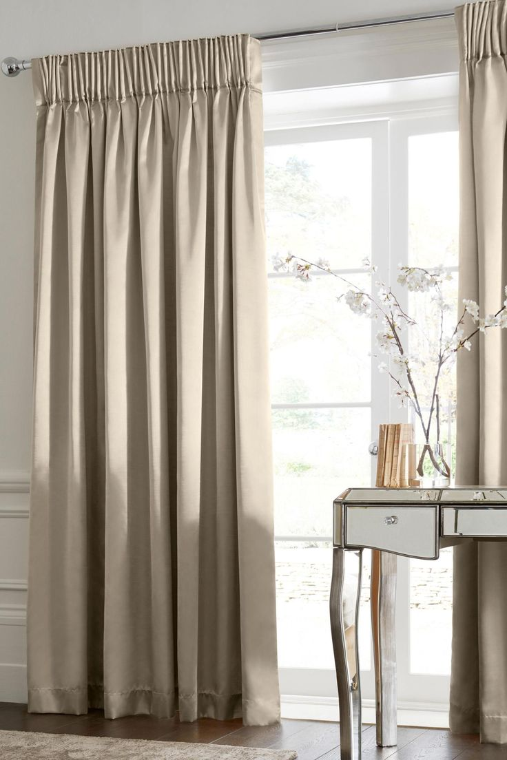 Attractive Buy Pencil Pleat Champagne Curtains From The Next UK Online Shop Part 7