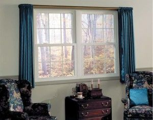 A double hung window is one that's made with both an upper and lower sash. Both of these sashes slide past each other in a single casement. Double hung windows are the traditional styles of windows and are easily recognized by their classic look.