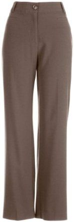 Counterparts Petite No Gap Waist Pants BROWN 8 Petite Counterparts. $29.99