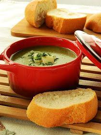 Dr Ola's kitchen: Spinach cream soup. SpinatcremeSuppe. شوربة السبانخ بالكريمة