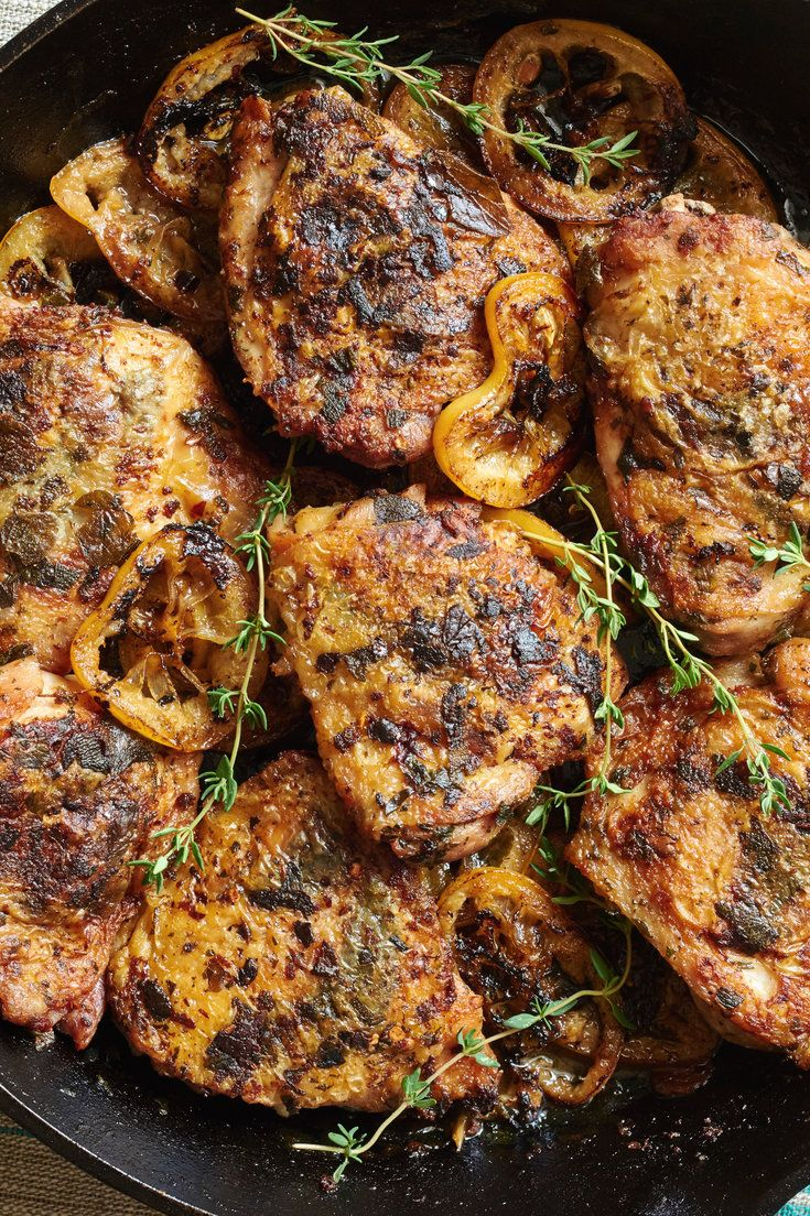 204 best chicken recipes images on pinterest kitchens cooking an easy superfragrant weeknight version of classic chicken under a brick this recipe uses forumfinder Choice Image