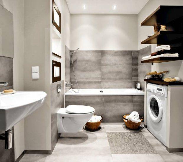 Zdjęcie numer 0 w galerii - Proste rozwiązania do trudnej łazienki