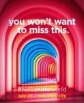 25 июля Motorola готовит грандиозное мероприятие в Нью-Йорке    Мобильное подразделение Motorola Mobility, входящее в состав китайского гиганта Lenovo Group по слухам собирается анонсировать сразу две новинки, такие как Moto X4, о котором на просторах сети интернет имеется уже достаточное количество информации, также новый флагманский смартфон Moto Z2 в рамках пресс-конференции, которая должна пройти 25 июля в Нью-Йорке. Об этом свидетельствуют разосланные представителям СМИ приглашения в…