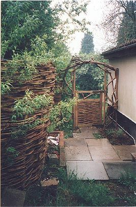 116 best Willow Fence images on Pinterest Willow fence Garden