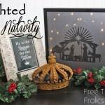 nativity: Lights Shadows, Boxes Native, Christmas Crafts, Holidays Crafts, Free Time, Christmas Native, Christmas Decor, Native Crafts, Lights Native