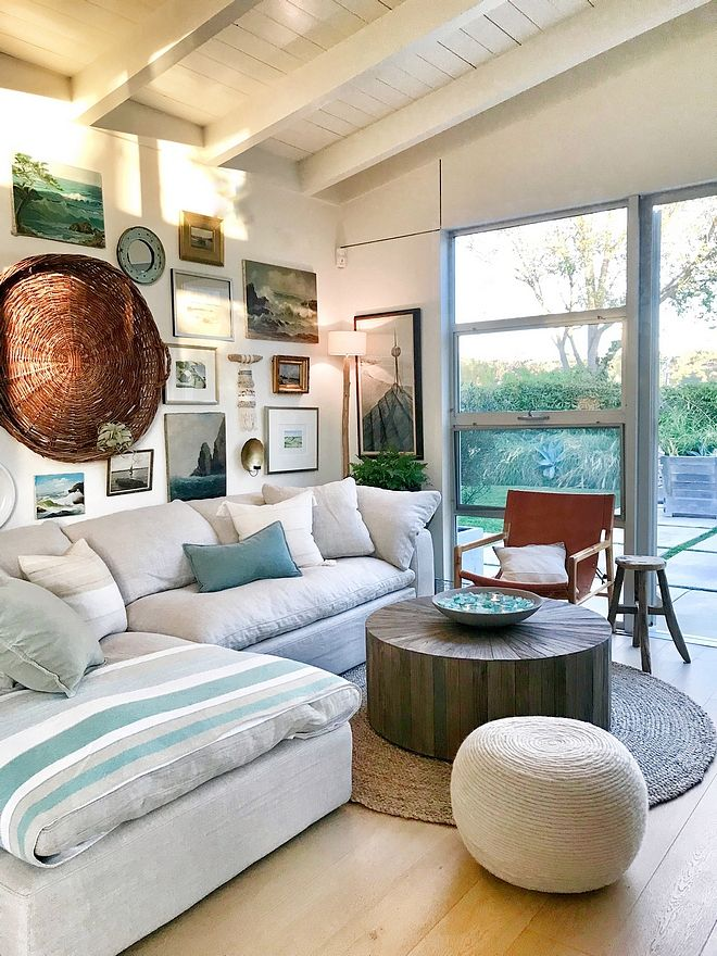 Round Jute Rug Living Room With Round Jute Rug And Round Wood Barrel Coffee Table Sources On Hom Rugs In Living Room Round Rug Living Room Jute Rug Living Room