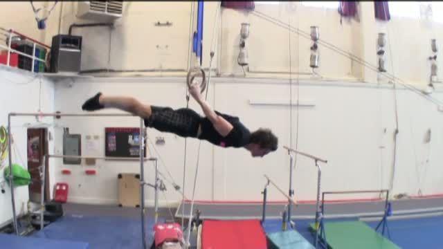 Back Lever #GymnasticsWOD