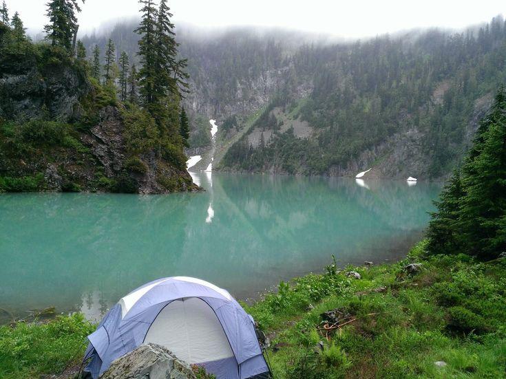 Gorgeous camping spot near Blanca Lake in Washington ...